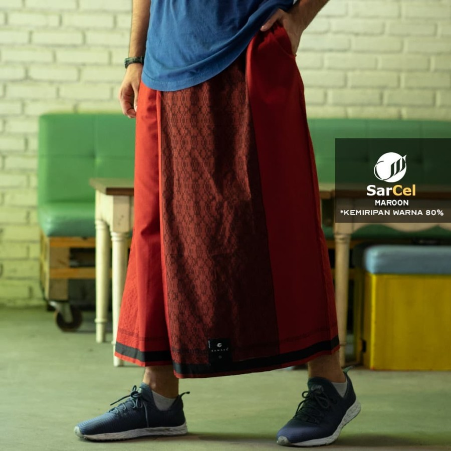 Pola Celana Sarung